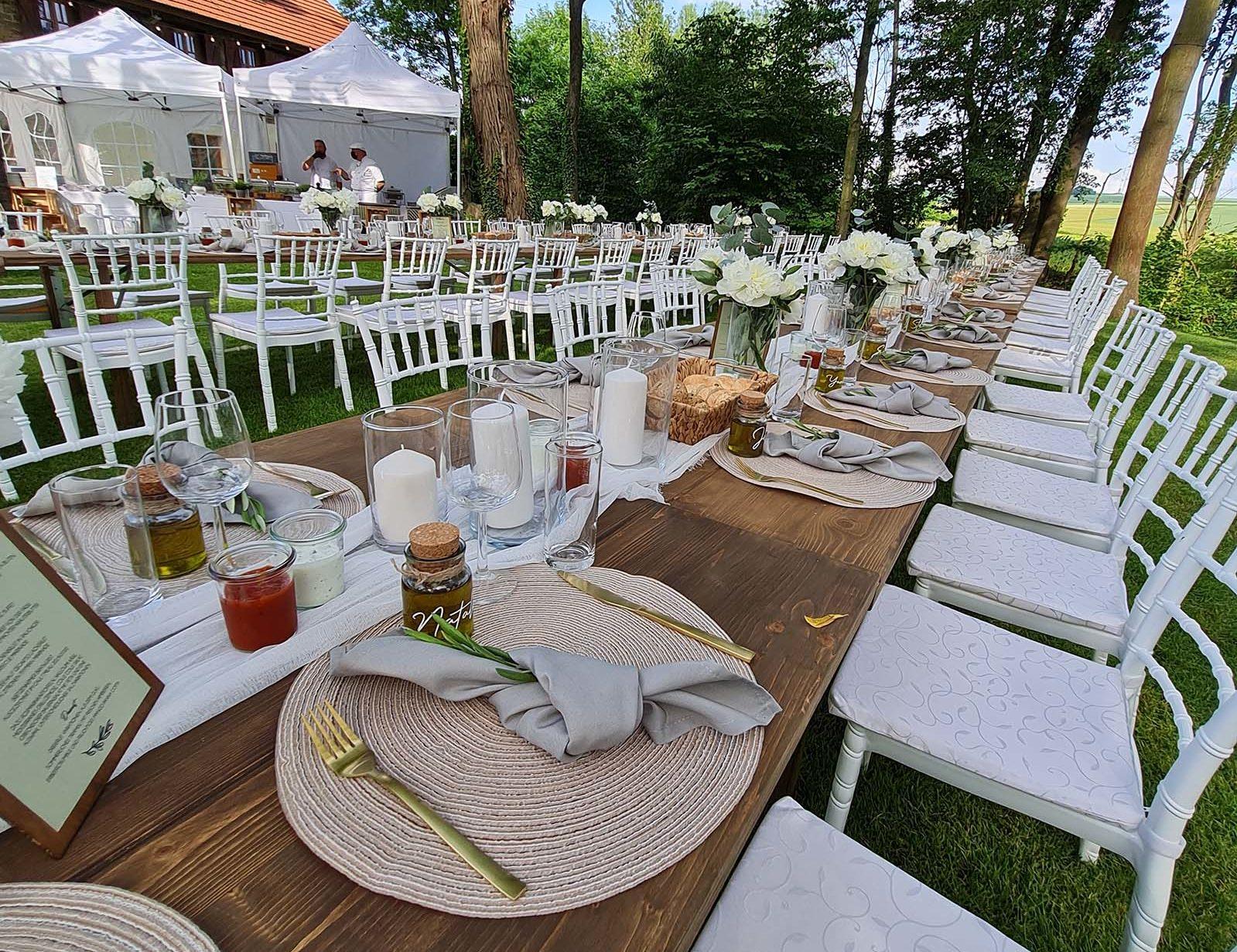 Hochzeit Catering und Dekoration