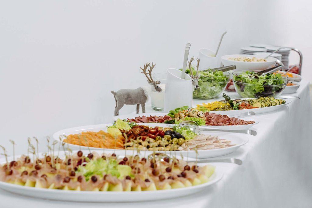 Weihnachtsfeier Buffet
